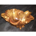 Image of Vintage Burl Wood Bowl