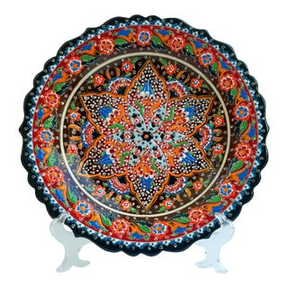 Large Hand Painted Plate