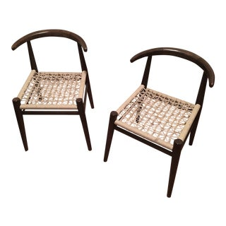 West Elm John Vogel Chairs - Pair
