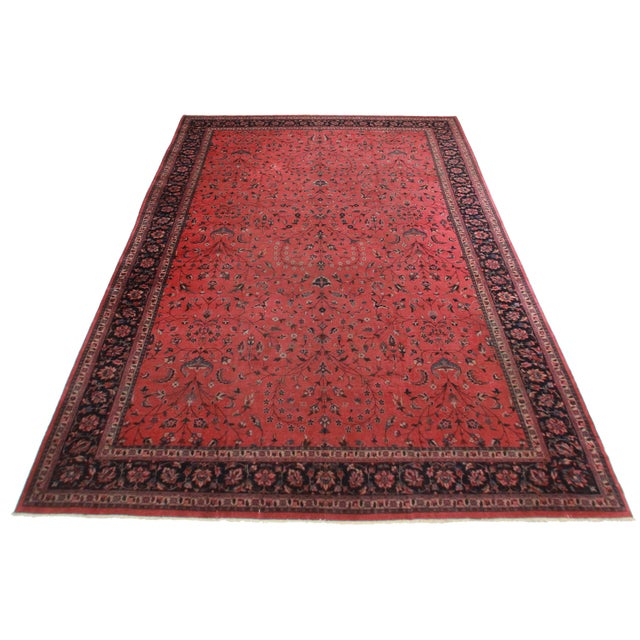 "RugsinDallas Turkish Sparta Wool Rug - 11'8"" X 17'3"" - Image 2 of 2"