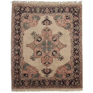 RugsinDallas Vintage Hand Knotted Persian Style Rug - 8′7″ × 10