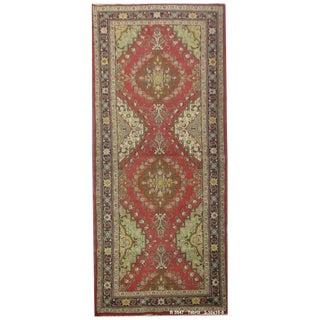 """Vintage Persian Tabriz Runner Rug - 3'10"""" x 10'8"""""""
