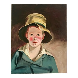 Portrait of a Boy Oil Painting