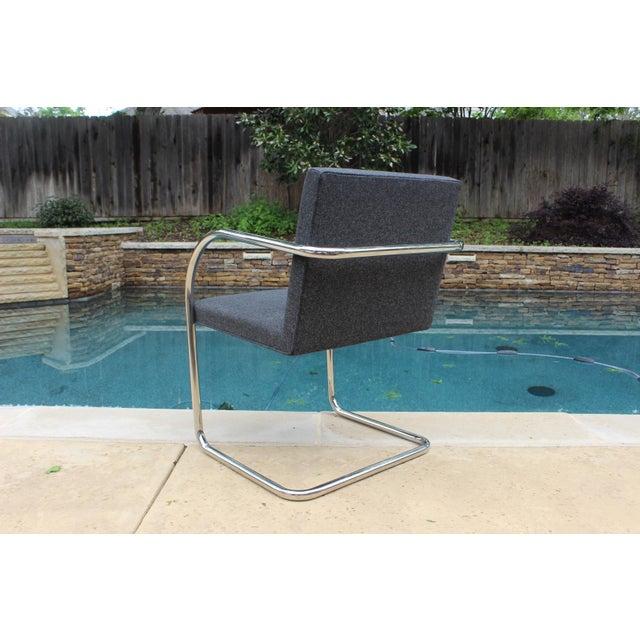 Vintage Ludwig Mies Van Der Rohe Knoll Tubular Brno Chair - Image 6 of 10