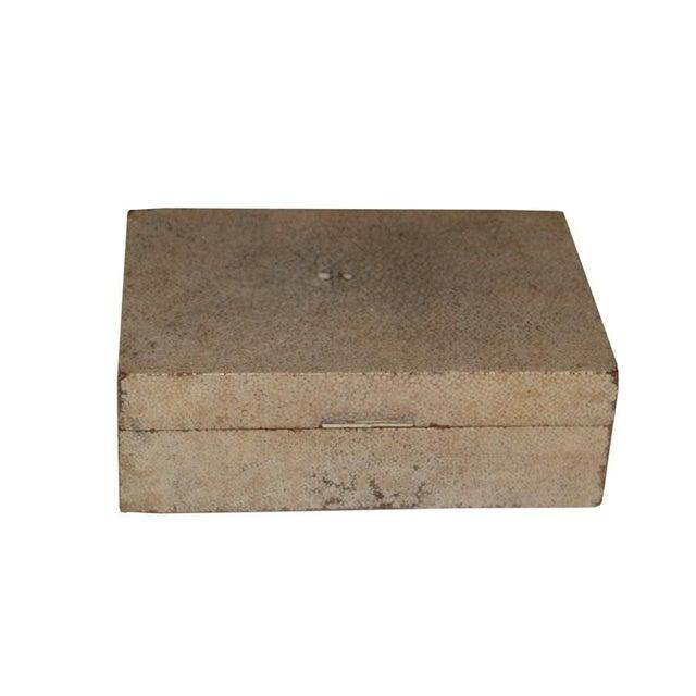 Antique Shagreen Box w/ Ivory Handle C. 1800s - Image 2 of 4