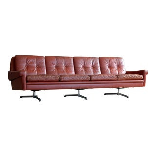 Svend Skipper Four Seat Airport Style Sofa
