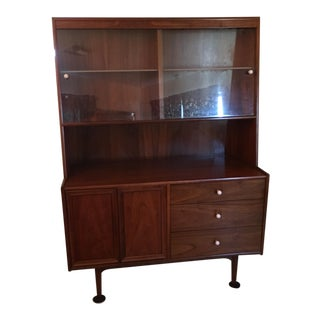 Kipp Stewart for Drexel Mid Century Dry Bar or Hutch/Buffet