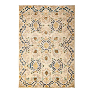 """Suzani Hand Knotted Area Rug - 5' 2"""" X 7' 6"""""""