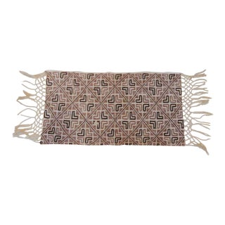 Boho Moroccan Brown & Tan Table Runner Textile