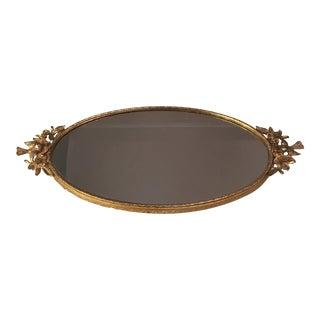 Ormolu Gold Mirrored Vanity Tray