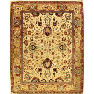 "Pasargad N Y Fine Agra Hand-Knotted Rug - 8'1"" X 10'3"""