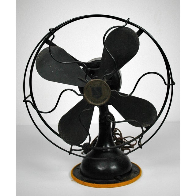 Antique Table Top Fan - Image 2 of 5