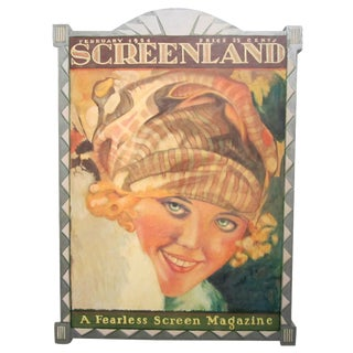 Marion Davies Screenland Painting