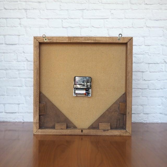 1970s Elgin Wall Clock - Image 6 of 8