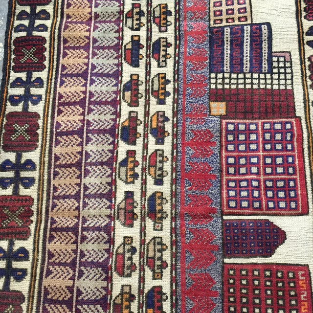Sumack Handmade Persian Rug - 2′10″ × 4′7″ - Image 4 of 11