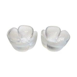 Rosenthal Wiinblad Glass Candleholders