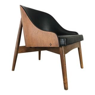 Kodawood Oak & Walnut Lounge Chair