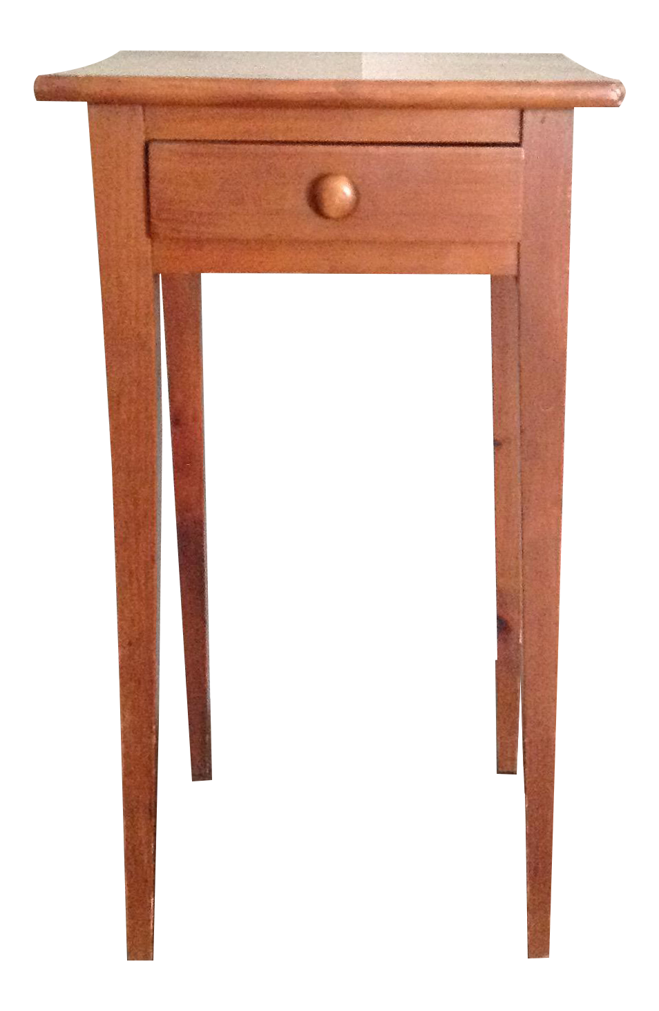 Handcrafted Pennsylvania Shaker Style Accent Table