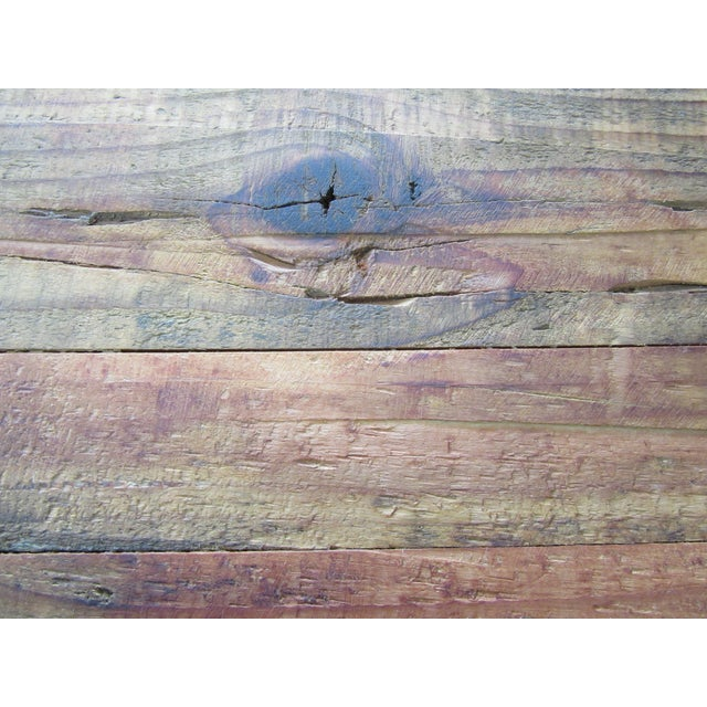 Image of Rustic Reclaimed Pine Peg-Jointed Coffee Table