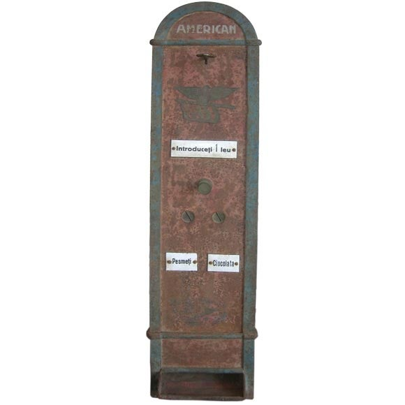 Bombon And Chocolate Pre-War Vending Machine - Image 2 of 5