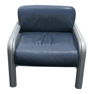 Mid-Century Modern Knoll Lounge Gae Aulenti Arm Chair