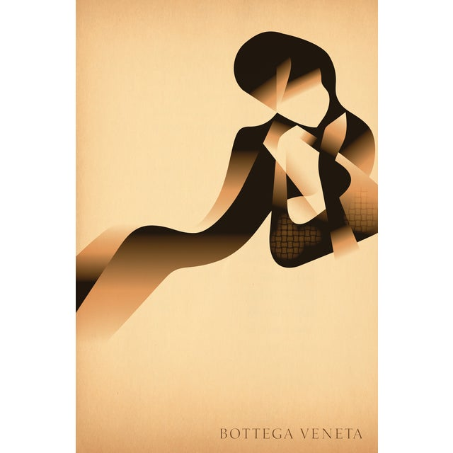 Image of Mads Berg 'Bottega Venet' Danish Poster