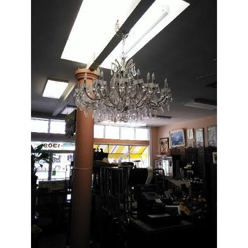 Maria Theresa 16 Arm Chrystal Chandelier - Image 4 of 7
