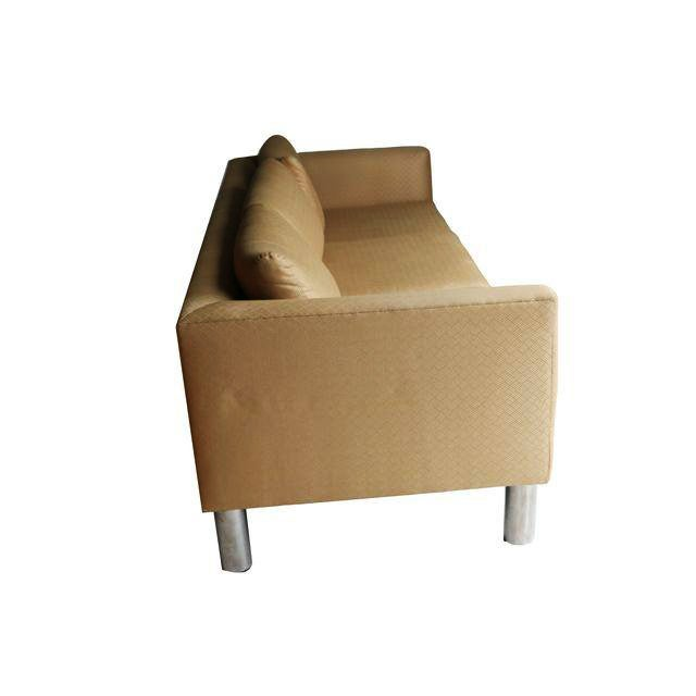 Mid Century Modern Chrome Leg Sofa - Image 7 of 9