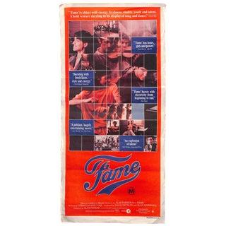 """1980 Vintage Movie Poster of """"Fame"""""""