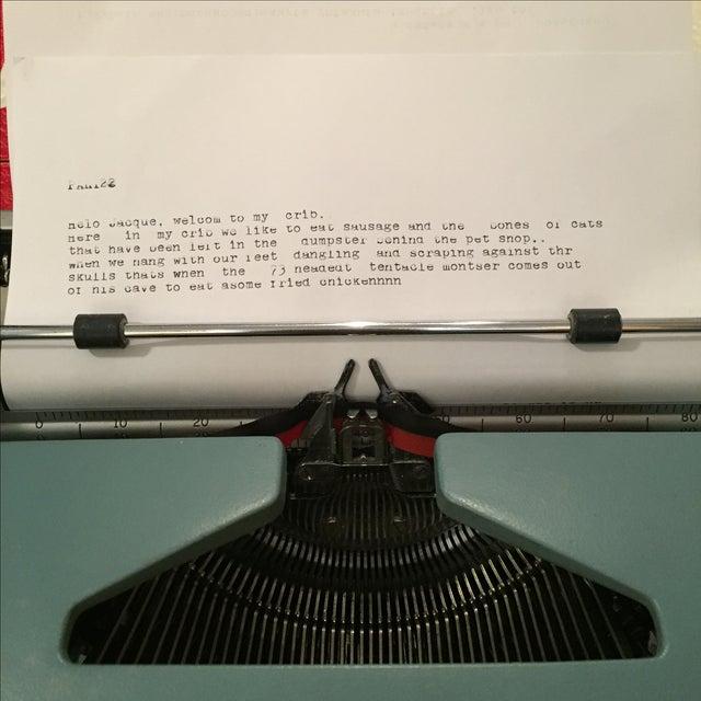 Smith Corona Typewriter 1960s Electric Coronet - Image 7 of 11