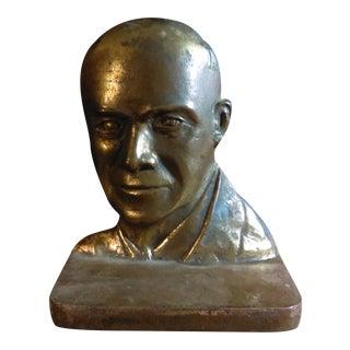 Bronze Dwight D. Eisenhower Bookend