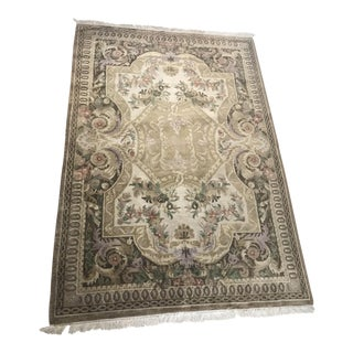 Tuscan Traditional Hand Tufted Wool Rug - 6' x 9'