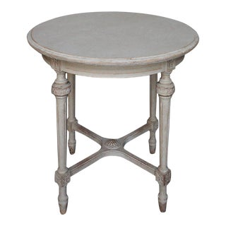 Round Swedish Side Table (#52-25)