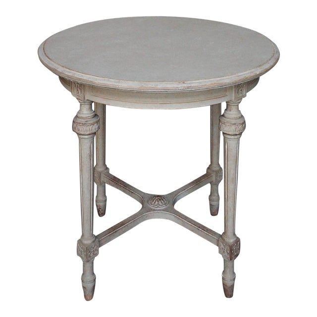 Sophisticated round swedish side table 52 25 decaso for Round table 52 nordenham