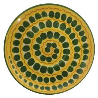 Mid-Century Italian Ceramic Plate