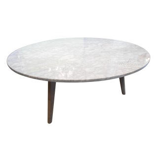 Mara Round Marble Top Coffee Table