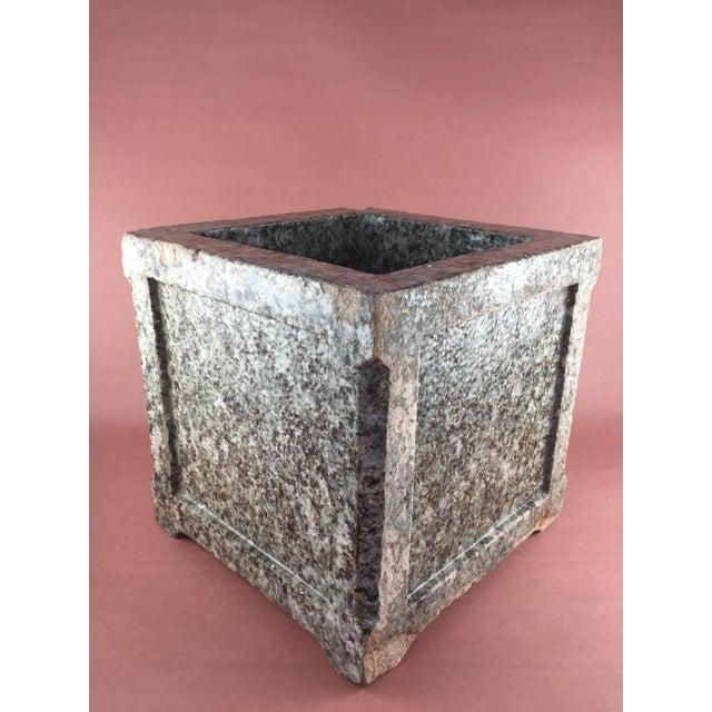 Image of Arts & Crafts Mission Craftsman Glazed Terra Cotta Planter