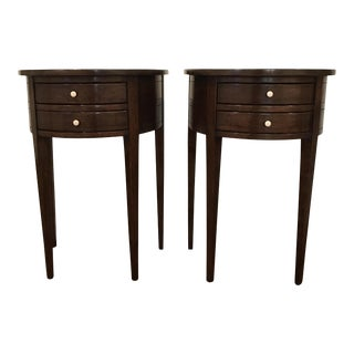 Rose Tarlow Lily Demi-Lune Tables-$1800 Each