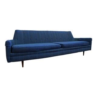 Mid-Century Danish Modern Milo Baughman Selig of Monroe Sofa