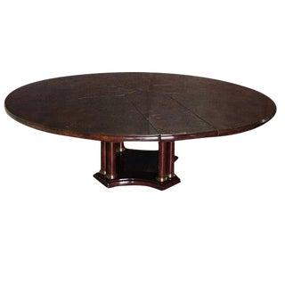 Expandable Circular Dining Table