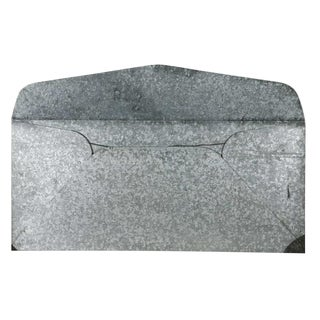 Large Envelope Form in Metal