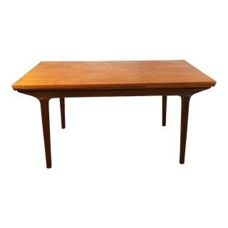 "Danish Modern Large Teak Dining Table - ""Agnes"""