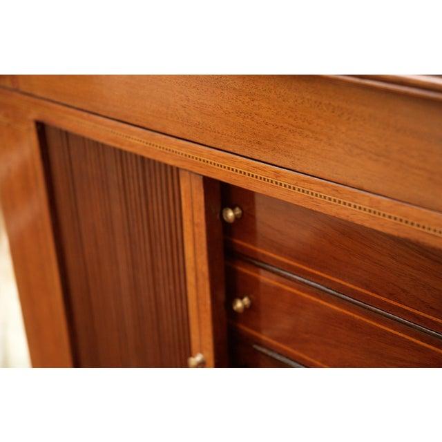 Antique Federal Style Mahogany Secretary Desk - Image 9 of 10