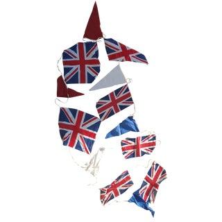 1960s British Flag Bunting