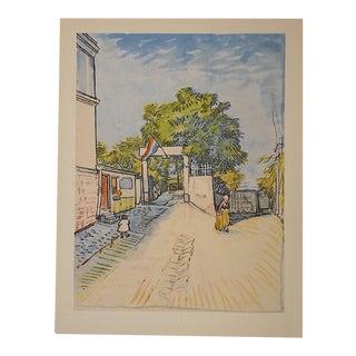 Vintage Van Gough Screenprint