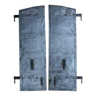 Antique Distillery Metal Shutters