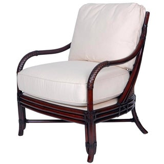 David Francis Octagonal Cane Bergere Chair
