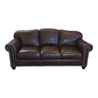 Whittemore Sherrill Leather Sofa