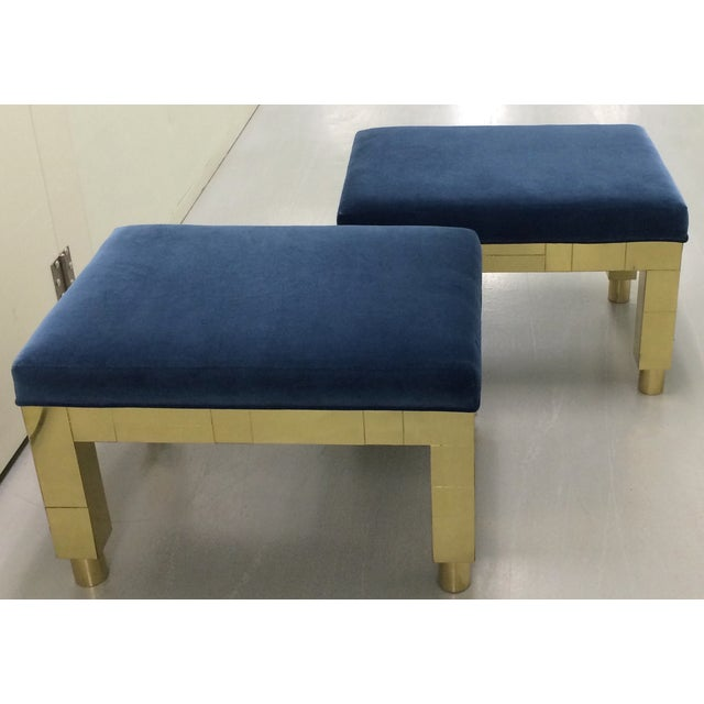 Image of Paul Evans Cityscape Benches- A Pair