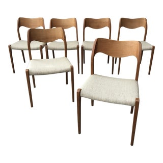 JL Moller Models Dining Chairs - Set of 6